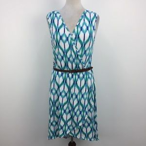 NWT Tart Collections Belted Faux Wrap Dress